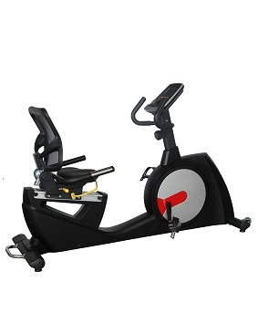 康乐佳K8728R卧式健身车
