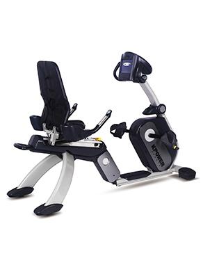 康乐佳K9002RW商用自发电卧式健身车
