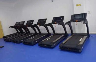 康乐佳西部某部队健身房配置